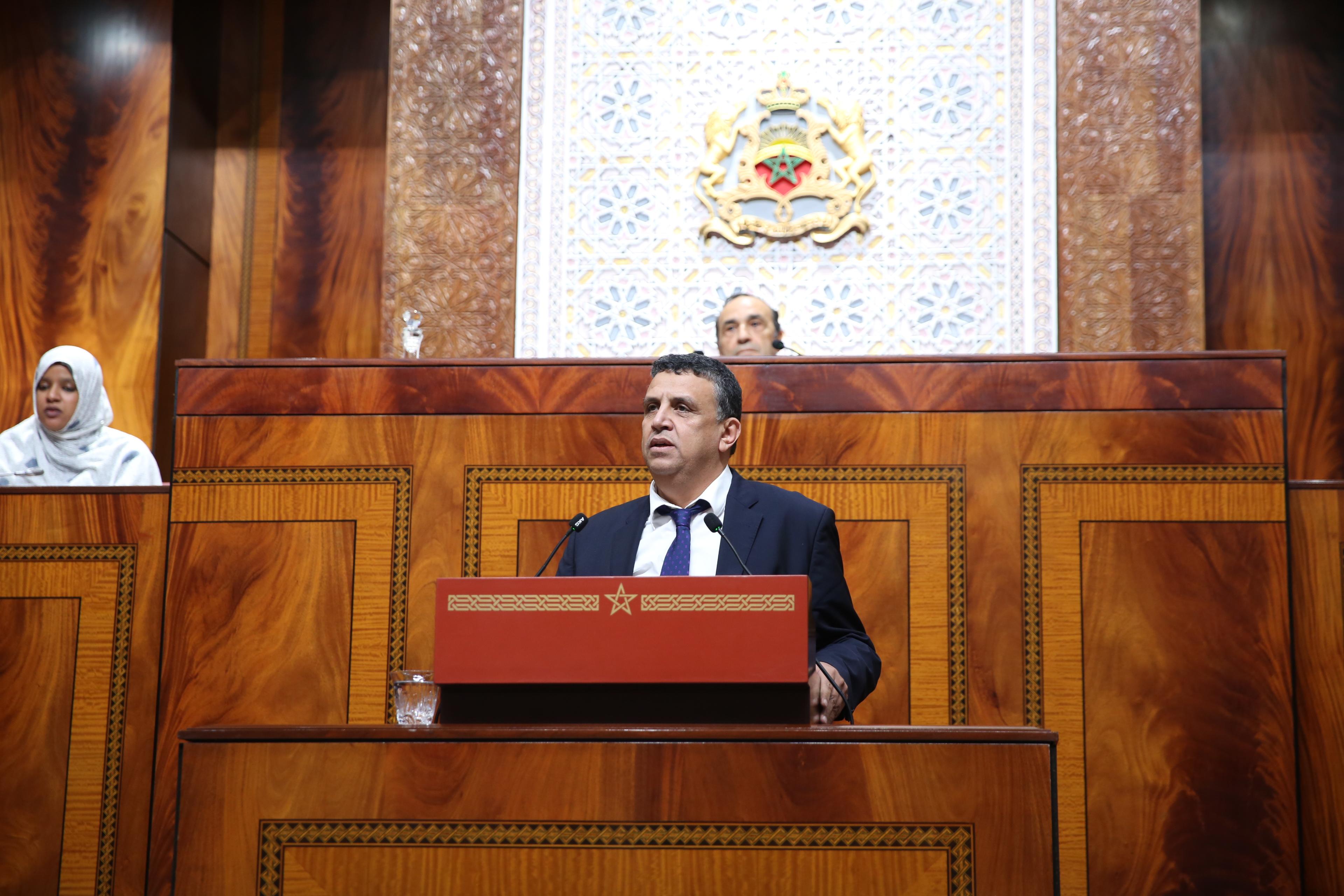 """""""البام"""" يطرح قضية بلهايسي وميدي1 على الفردوس في البرلمان"""