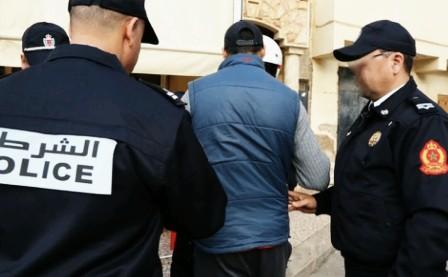 اعتقال جزائريين بمراكش