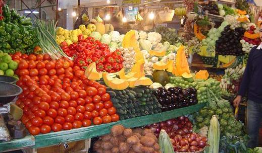 إنخفاض في أسعار الخضر والفواكه