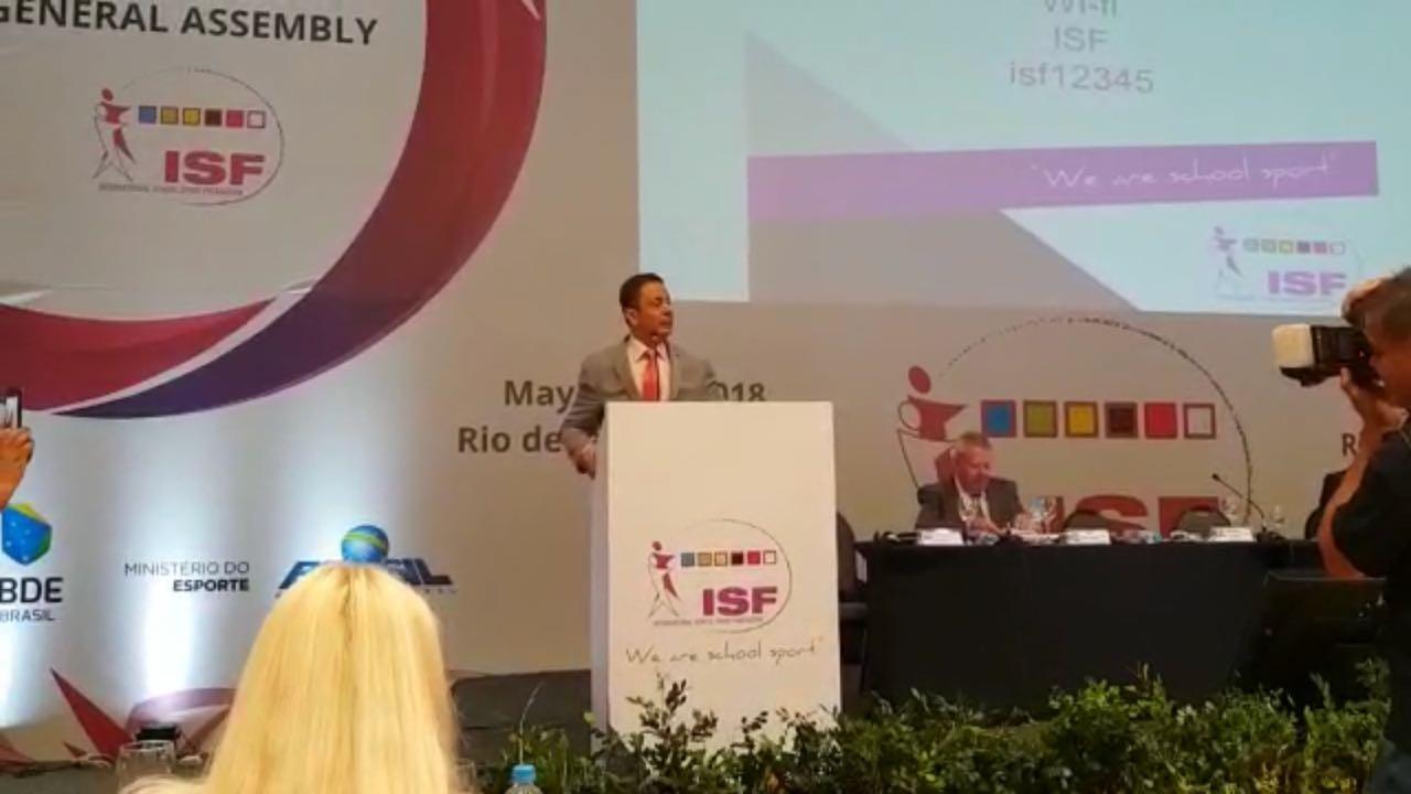 المغرب عضو باللجنة التنفيذية للجامعة الدولية للرياضة المدرسية
