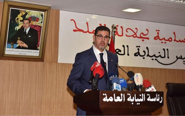 عبد النباوي يدعو إلى الصرامة مع مخالفي إرتداء الكمامات