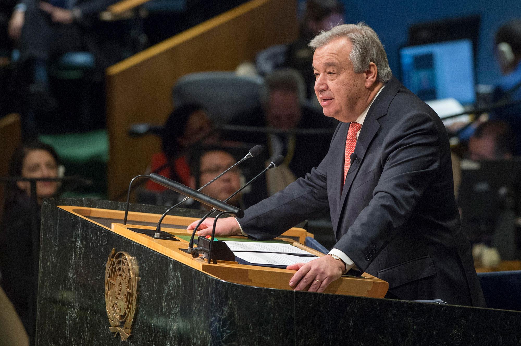 تقرير الأمين العام للأمم المتحدة يبرز التنمية والهدوء السائد في الصحراء المغربية