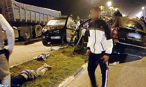 مصدر أمني يوضح أسباب حادث مصرع 5 من مشجعي الدفاع الجديدي