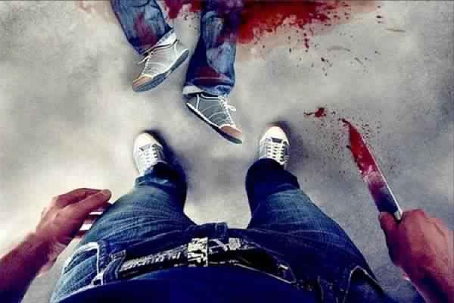 قتل والده وقطع الجثة