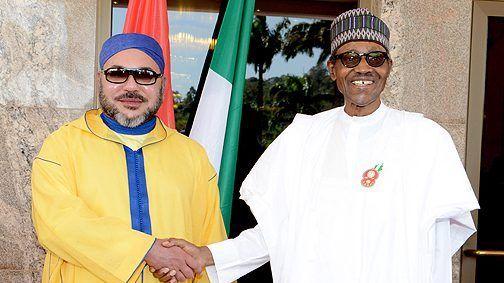 مباحثات هاتفية بين الملك والرئيس النيجيري