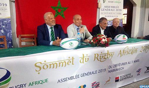 """بوكجة """"يختار"""" المغرب لترؤس آخر اجتماع له على رأس ريكبي افريقيا"""