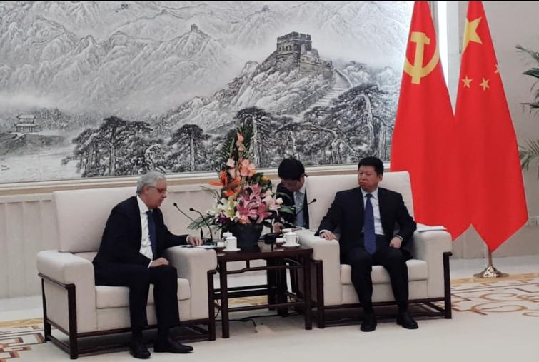 نزار بركة في ضيافة الحزب الشيوعي الصيني