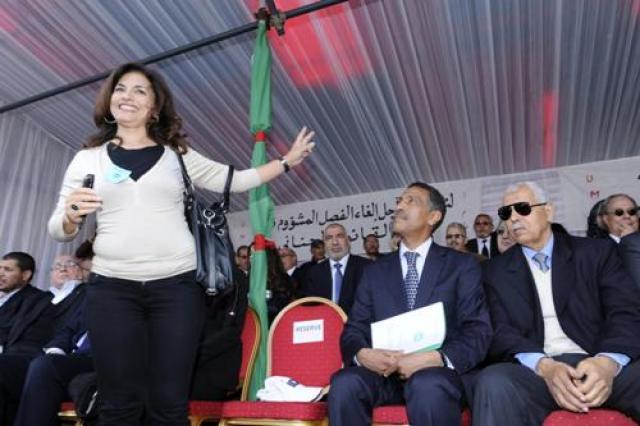 """""""بيان فضيحة"""" أمال العمري يكشف تواطؤ UMT مع ليدك ضد مصالح العمال"""