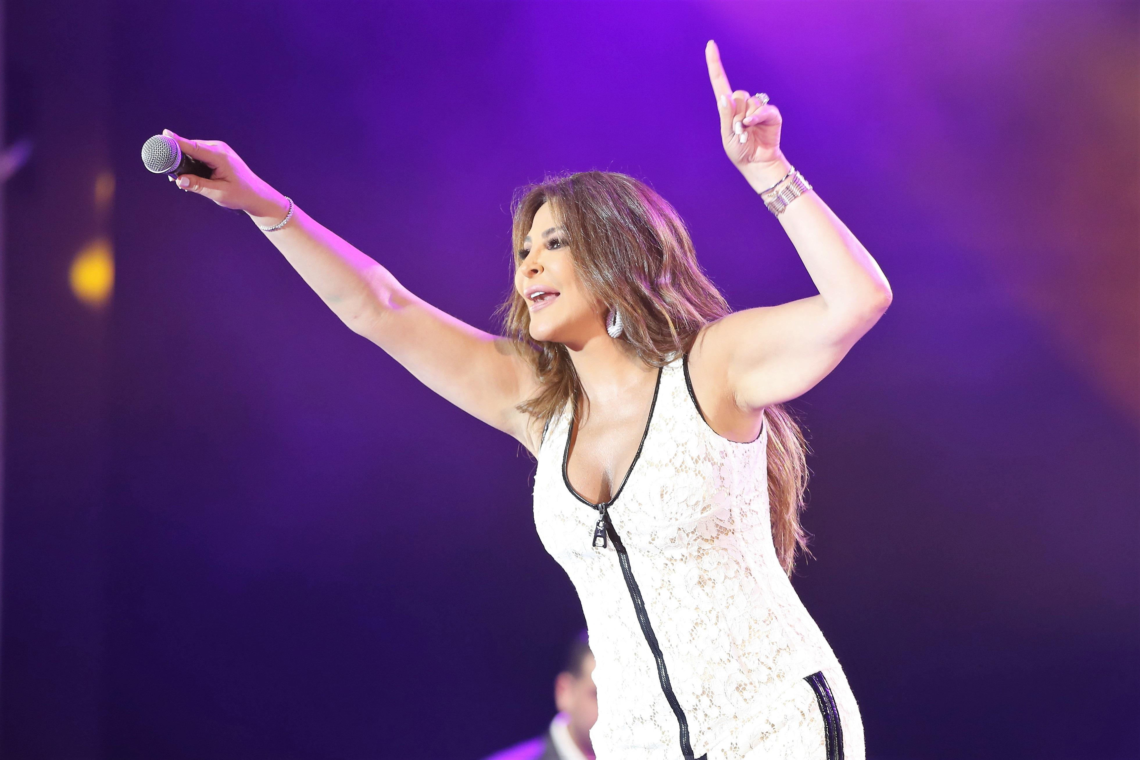 موازين 2019.. عشق، حب وهيام في حفل رومانسي مع ملكة الإحساس إليسا