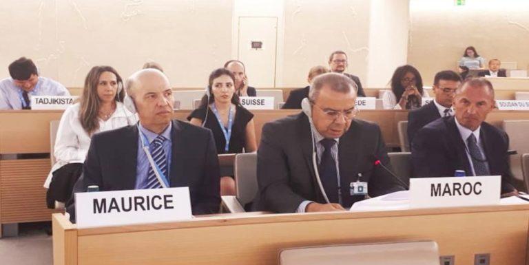 بنيوب يجدد التزام المغرب الثابت بمكافحة العنصرية والتمييز بجميع أشكاله