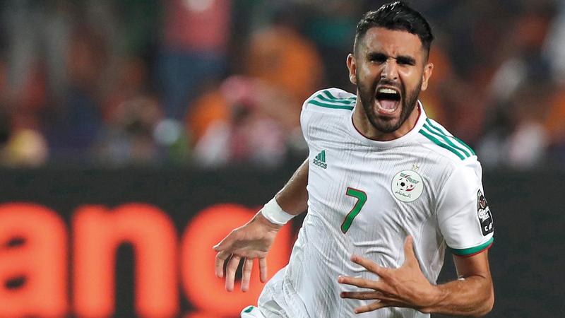 محرز: سنسعد الشعب الجزائري بالفوز بكأس أمم إفريقيا