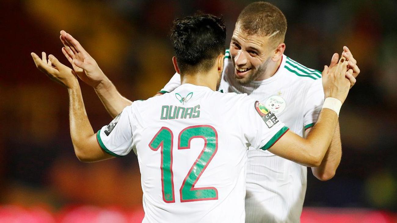 مباشر.. الجزائر وغينيا
