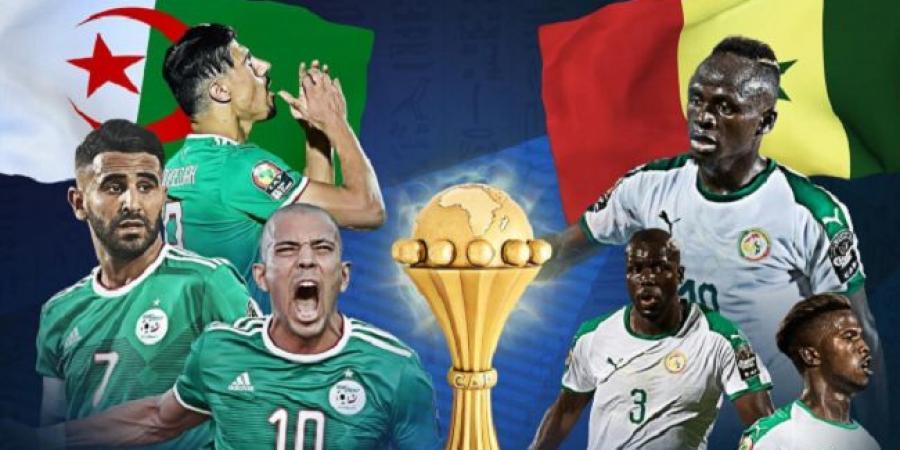"""نهائي """"الكان"""".. الجزائر والسنغال (مباشر)"""