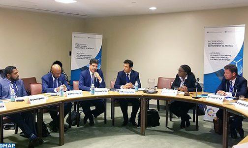 بكوري يشارك بنيويورك في اجتماع حول تسريع الاستثمار في الطاقات النظيفة بإفريقيا