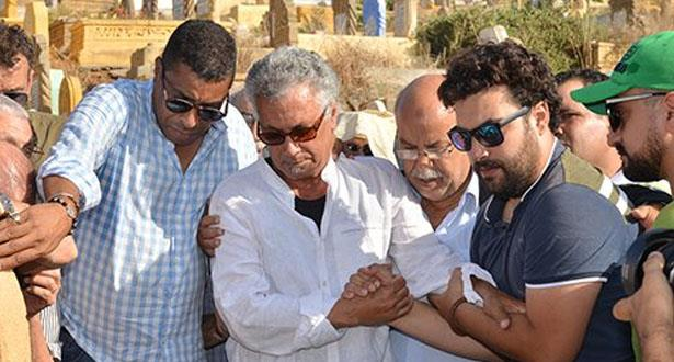 تشييع جثمان الفنان حسن ميكري