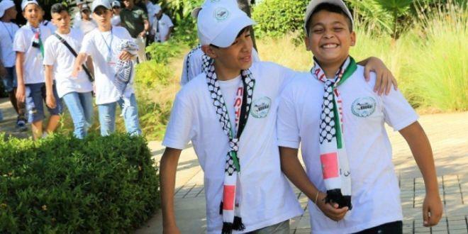 أطفال مقدسيون في الكورنيش وموروكو مول