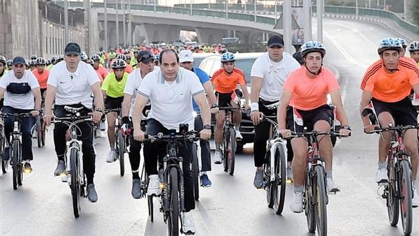 دراجة لكل مواطن في مصر