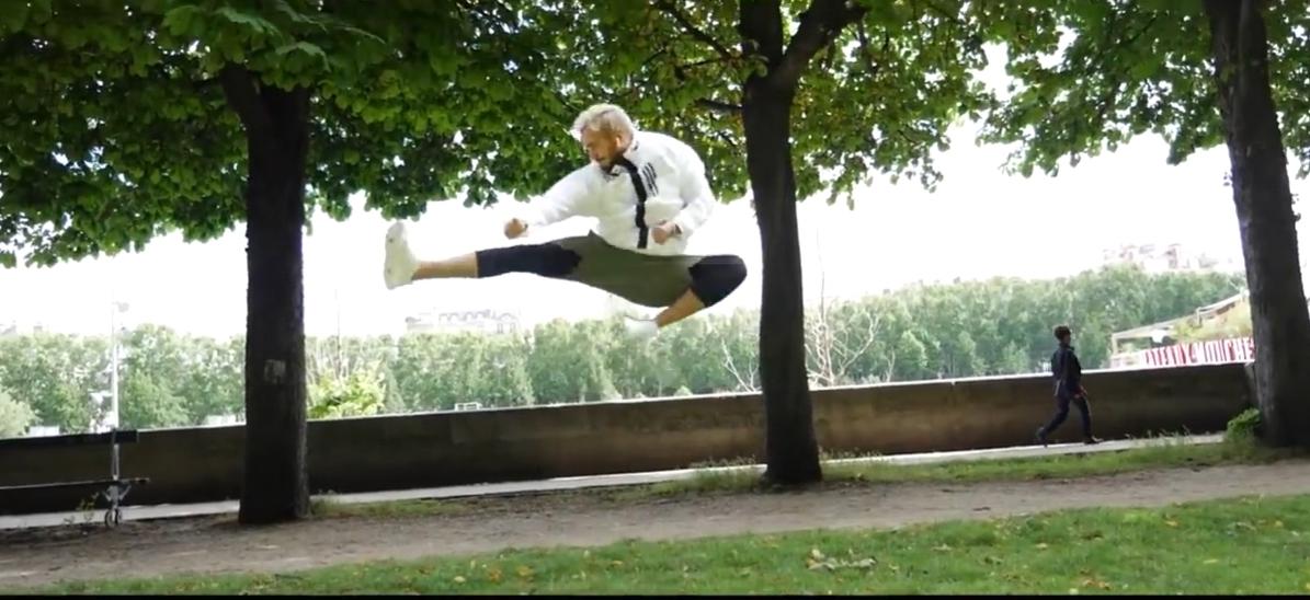 فيديو.. لمجرد يتدرب في باريس