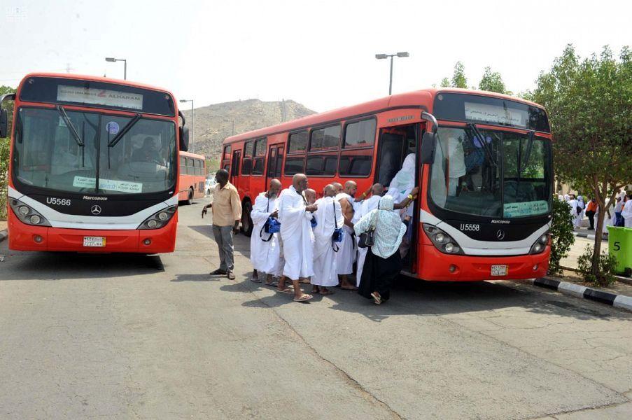 النقل التحدي الاصعب للسعودية في الحج