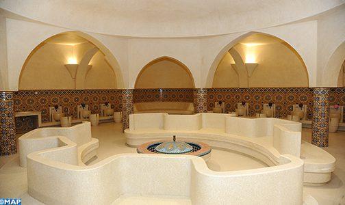 حمامات مسجد الحسن الثاني تفتح أبوابها في وجه العموم (فيديو)