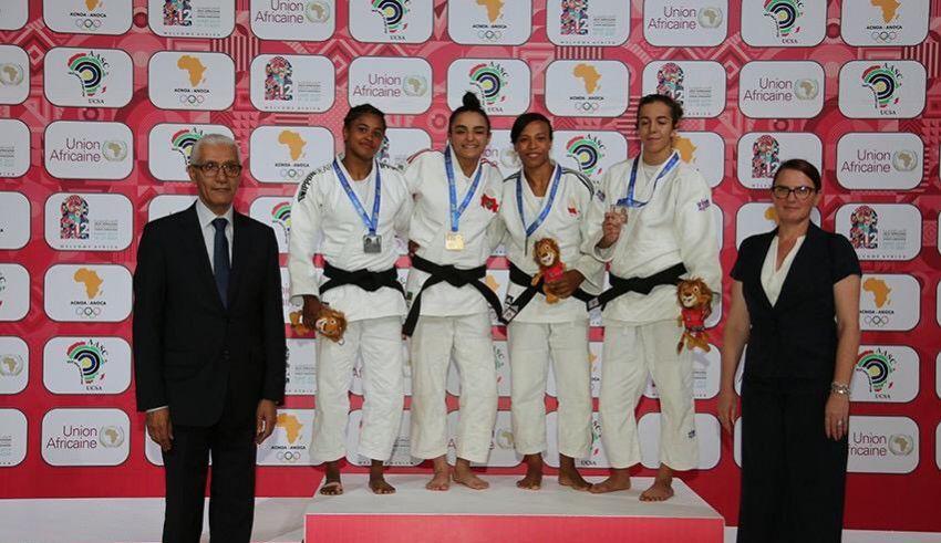 الجودو يمنح المغرب ذهبيتان في افتتاح منافسات الألعاب الإفريقية