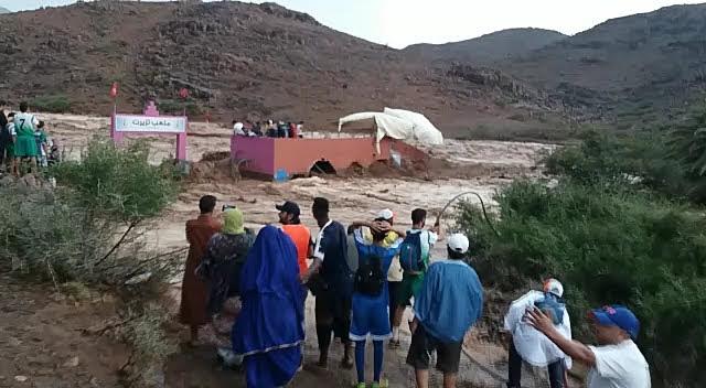 تحديد هويات ضحايا السيول نواحي تارودانت