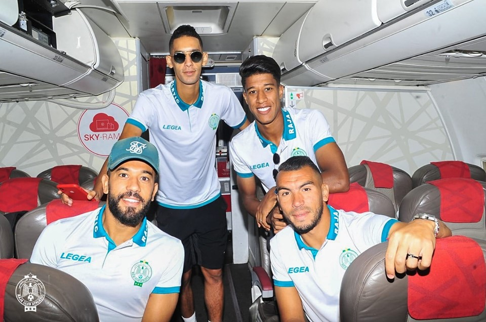 الرجاء يتوجه إلى مصر