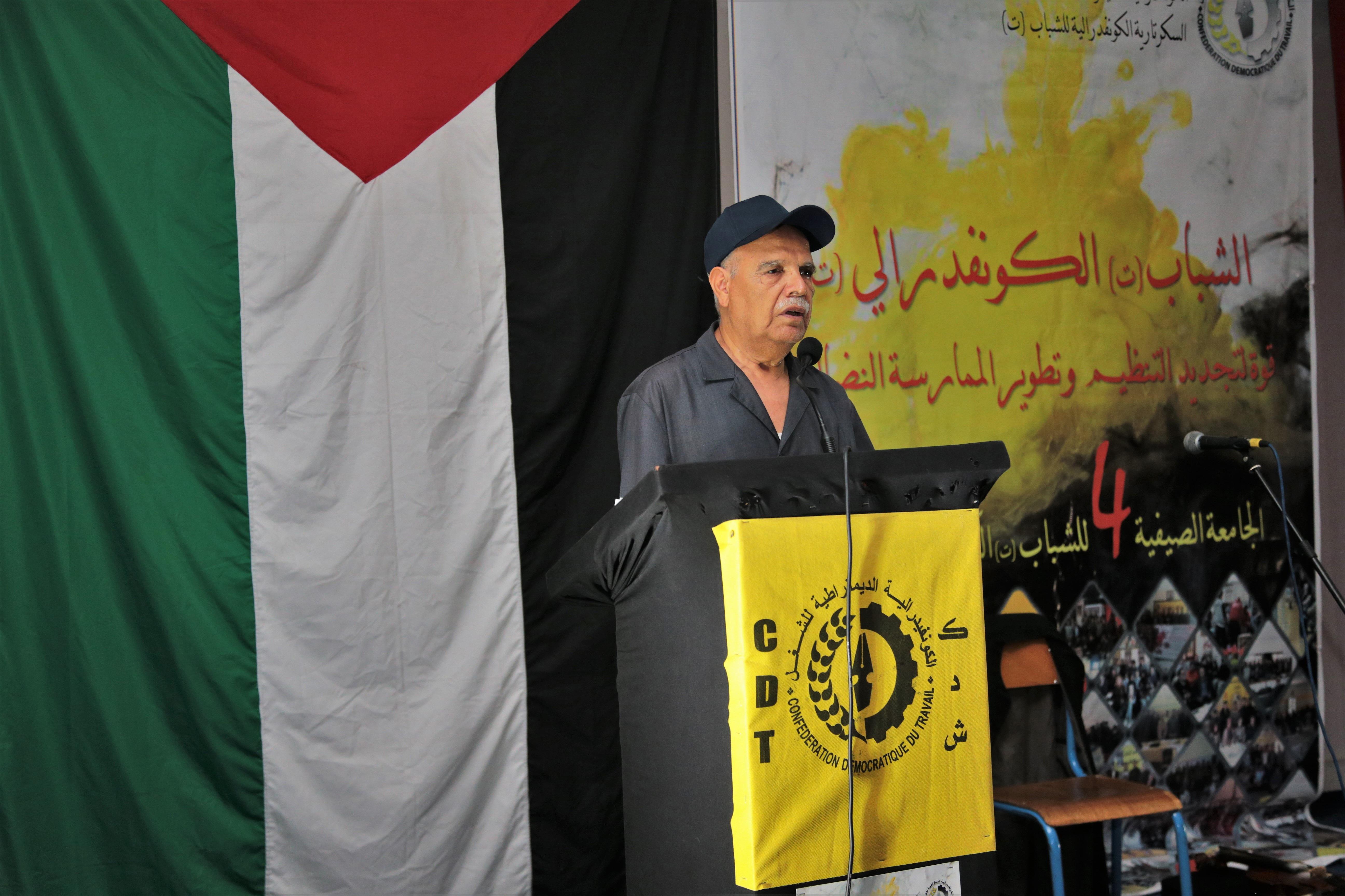 الزاير: نطالب بحوار وطني حول جميع الملفات وبصياغة مشتركة لمشروع قانون الإضراب