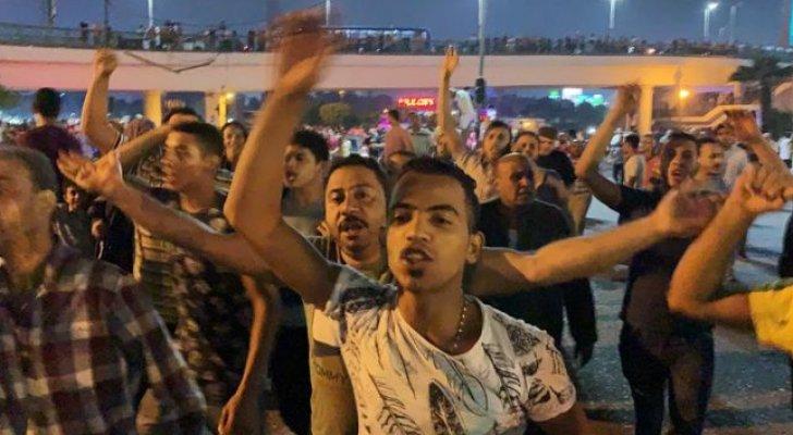 مصر: احتجاجات في القاهرة والإسكندرية تطالب برحيل السيسي
