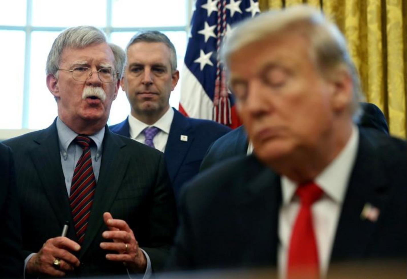 ترامب يقيل جون بولتون مستشار الأمن القومي الأمريكي