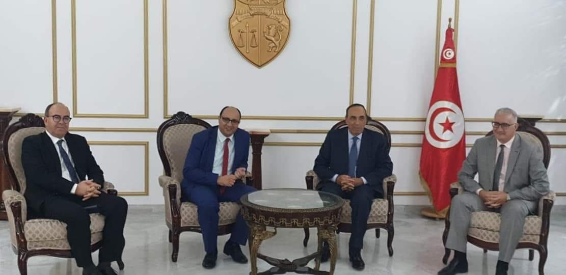 المالكي وبنشماش يحضران تنصيب الرئيس التونسي الجديد