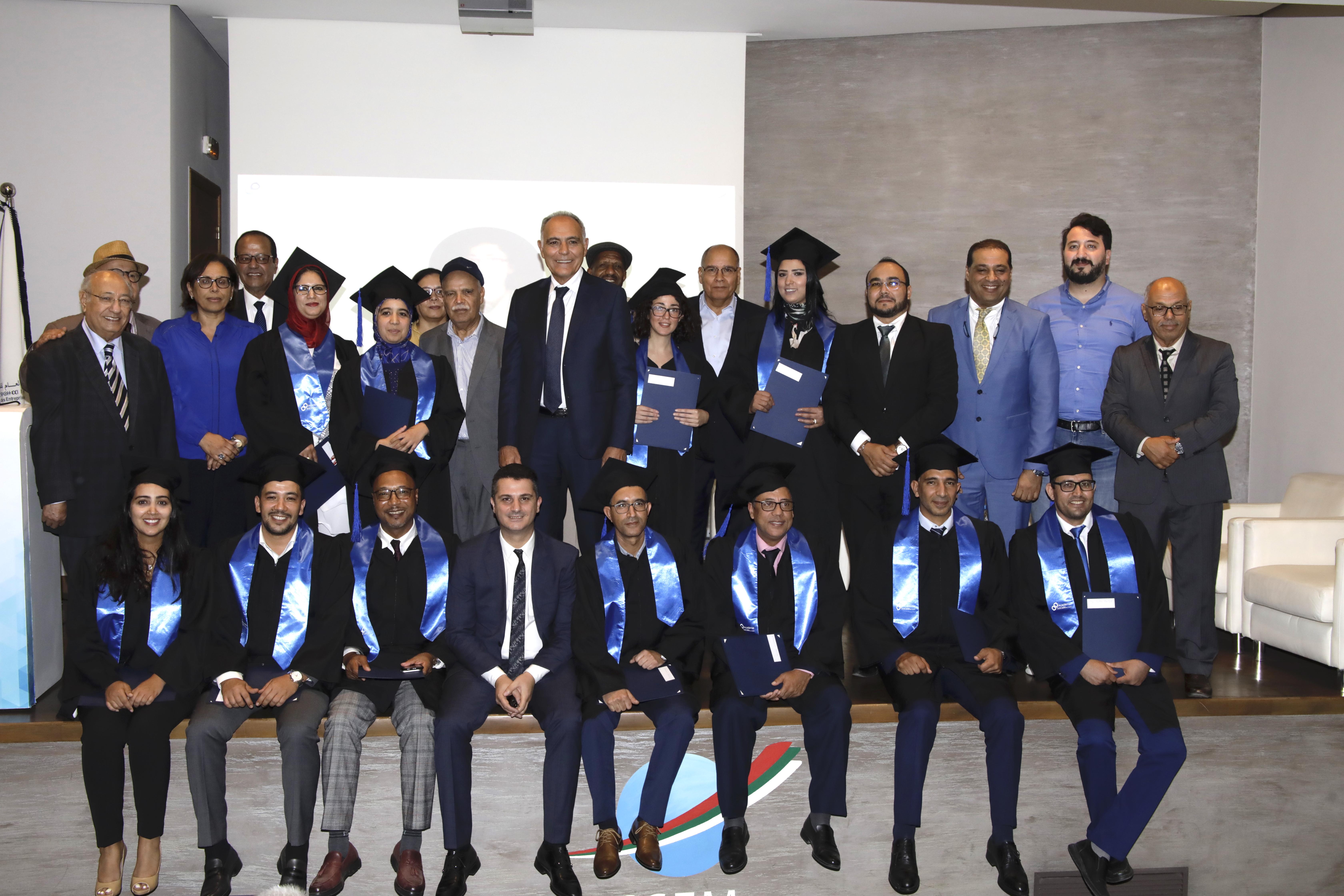 """الأكاديمية الاجتماعية لـ""""CGEM"""" تحتفل بأول فوج للمتخرجين"""