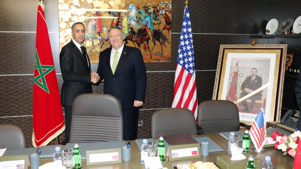 الحموشي يجري مباحثات مع وزير الخارجية الأمريكي