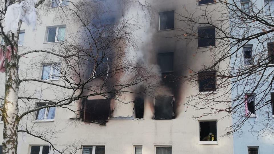 قتيل وجرحى جراء انفجار في مبنى سكني بألمانيا