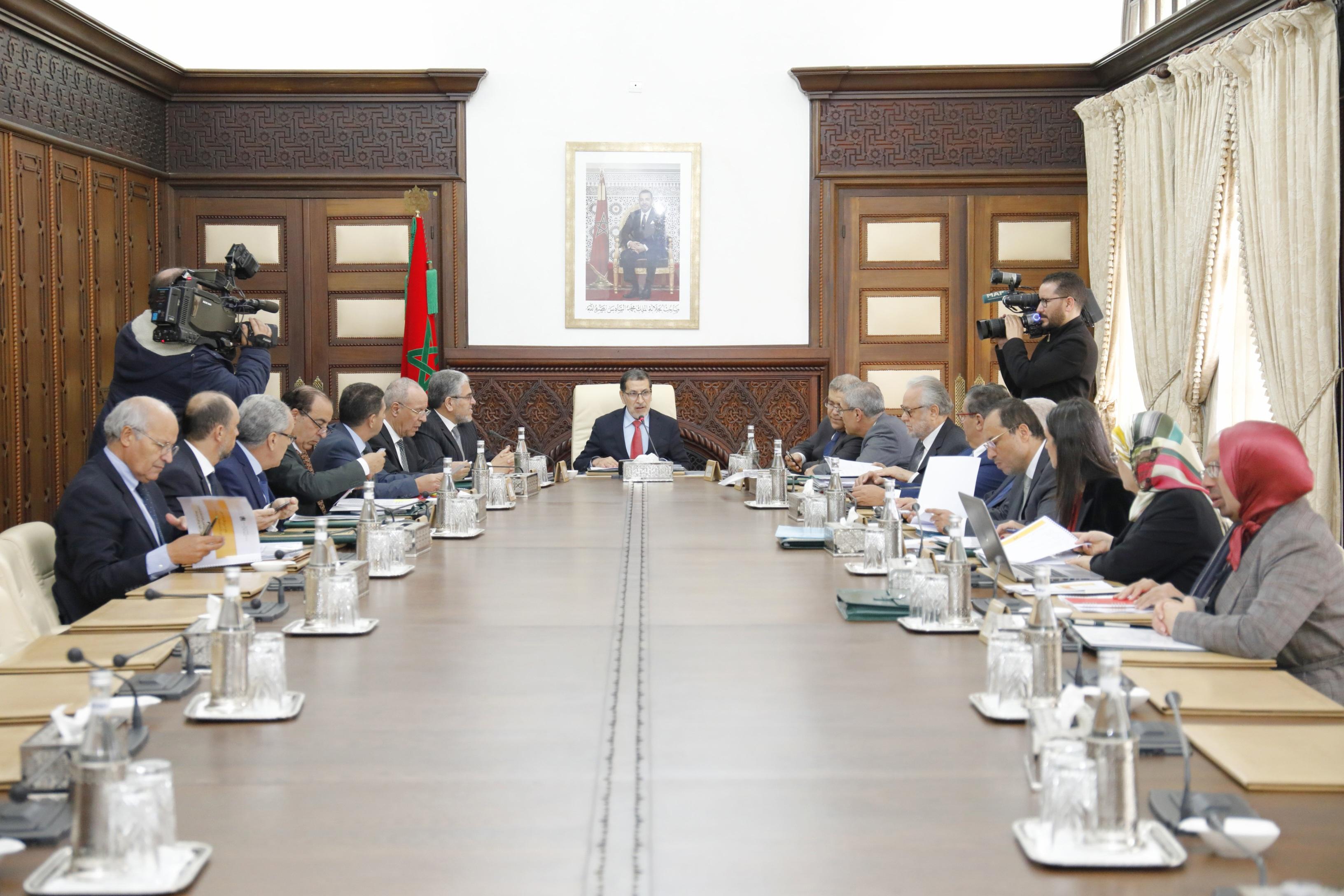 جدول أعمال اجتماع مجلس الحكومة الخميس
