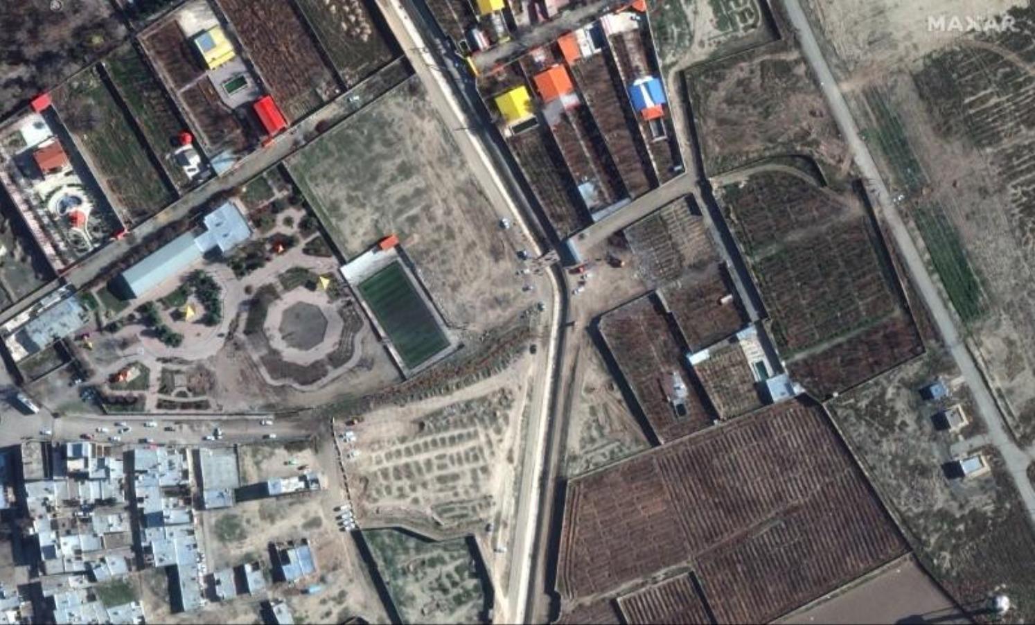 فيديو جديد يظهر إصابة الطائرة الأوكرانية بصاروخين إيرانيين