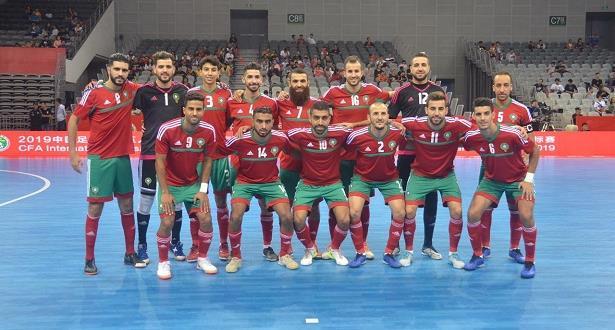 المنتخب المغربي يرتقي في التصنيف الشهري