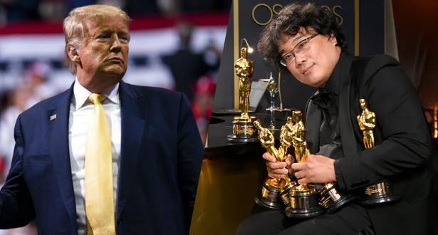 """ترامب ينتقد منح """"باراسايت"""" أوسكار أفضل فيلم"""