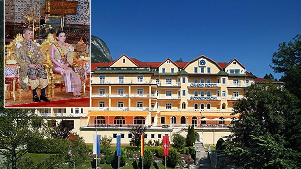ملك تايلند يعزل نفسه بفندق في ألمانيا رفقة 20 فتاة