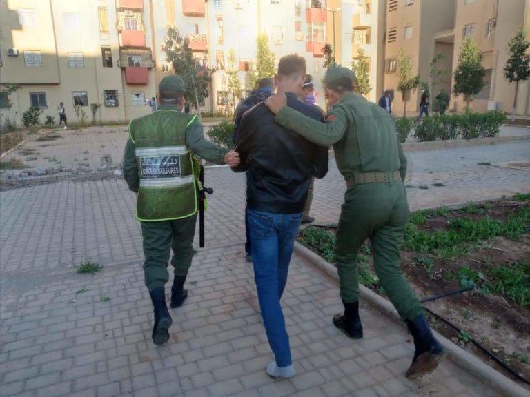 اعتقالات بالجملة في حق مخالفي إجراءات حالة الطوارئ بمراكش