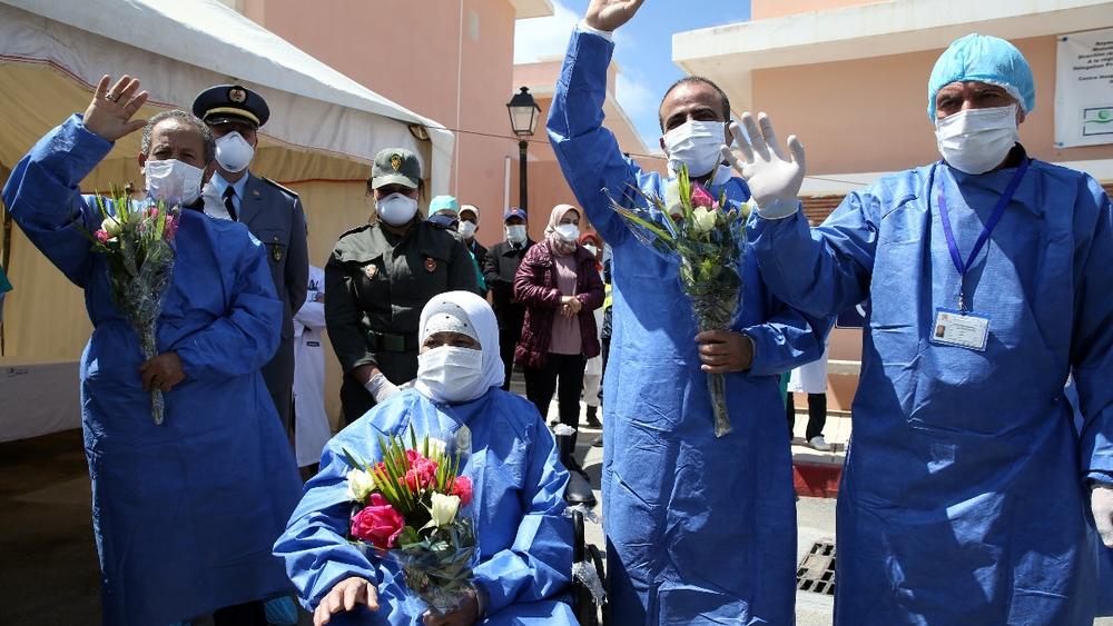 ارتفاع عدد حالات الشفاء من كوفيد-19 بالمغرب