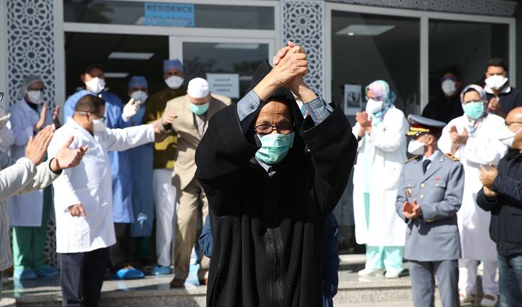 ارتفاع مستمر لحالات الشفاء من كوفيد-19 بالمغرب