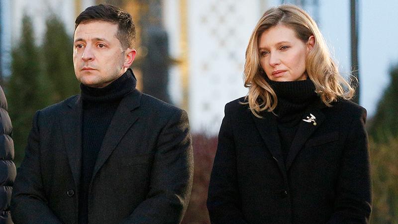 كوفيد 19.. إصابة زوجة رئيس أوكرانيا