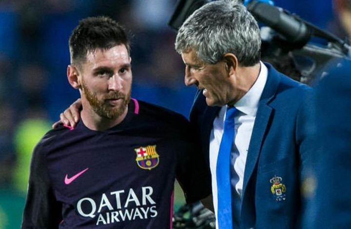بطولة إسبانيا: سيتيين يشدد على علاقته الجيدة بلاعبي برشلونة