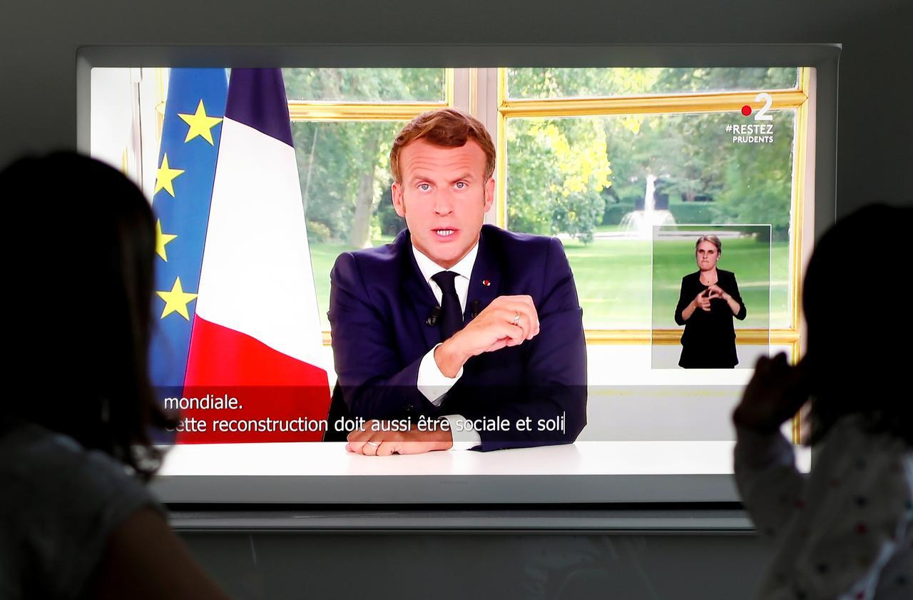 مكرون يسعى بفرنسا إلى إستقلال إقتصادي أكبر بعد كورونا