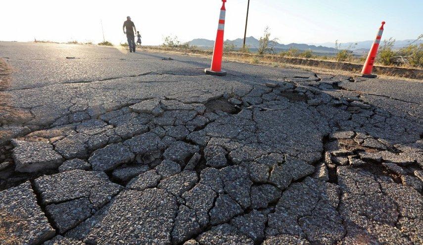 زلزال يهز كاليفورنيا