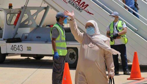 إستقبال 318 مغربيا كانوا عالقين بالخارج
