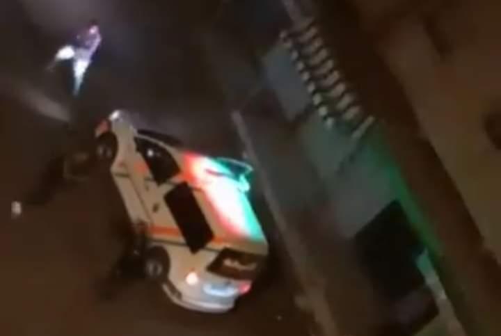 إطلاق الرصاص على شخص عرض حياة رجال الأمن للخطر