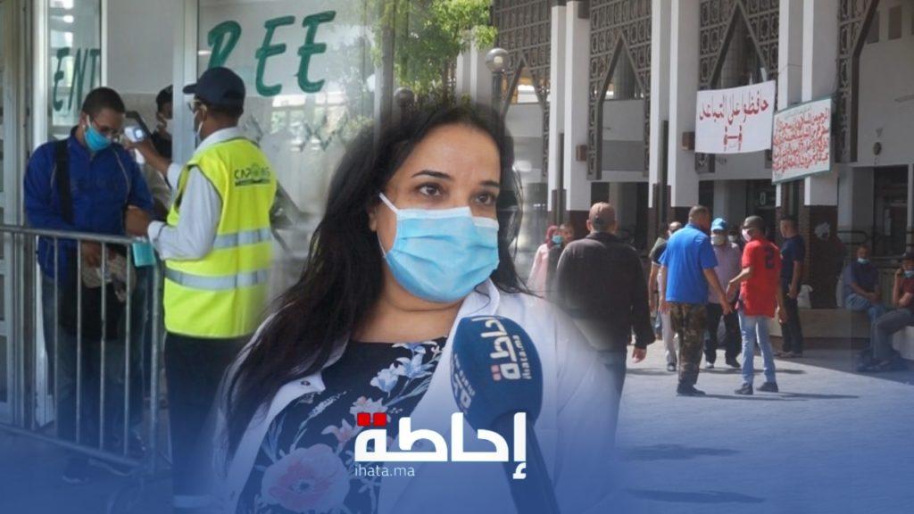 فيديو.. تشديد الإجراءات الصحية بمحطة أولاد زيان ودخولها يتم بشروط