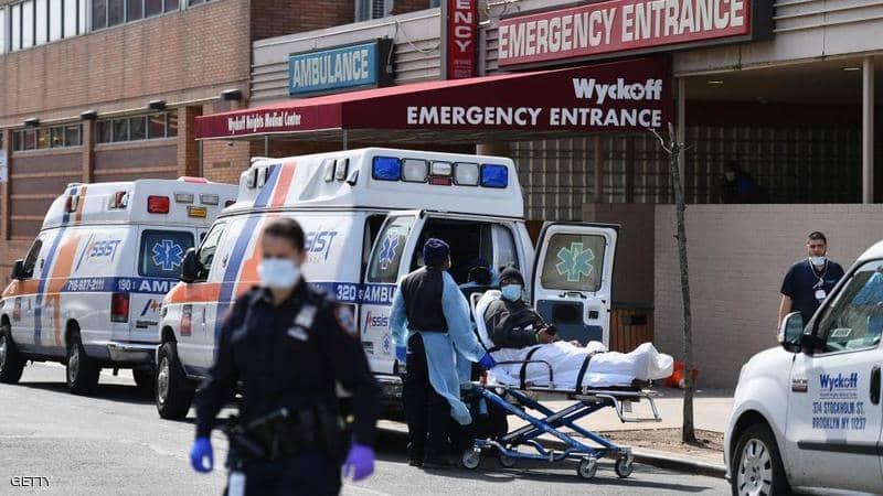 تسجيل حصيلة إستثنائية للإصابات بكورونا في الولايات المتحدة